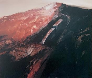 Archäologische Landschaft (Bilhauerwerkstatt), 1987