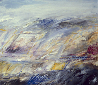 Archäologische Landschaft (Studie), 1987