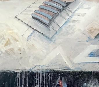 Entwurf für eine Platzgestaltung IV, 1986