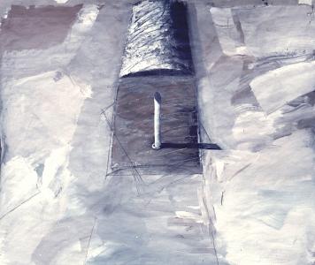 Entwurf für eine Platzgestaltung VII, 1986