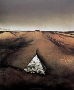 Grabmal in geeigneter Landschaft, 1978 / 79