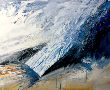 Landschaftsmarkierung, 1986 / 87