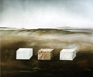 Landschaftsmarkierung, 1980
