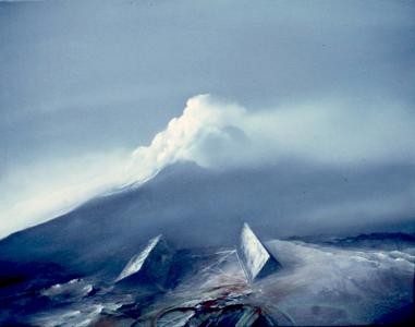 Landschaftsmarkierung Nr. 2, 1983