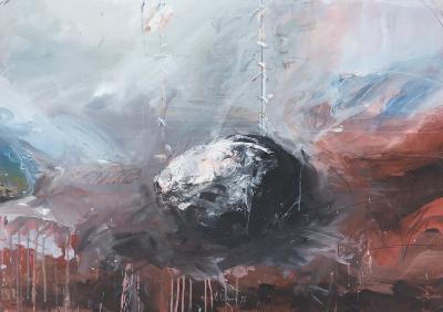 Landschaftsmarkierung Nr. 5, 1985