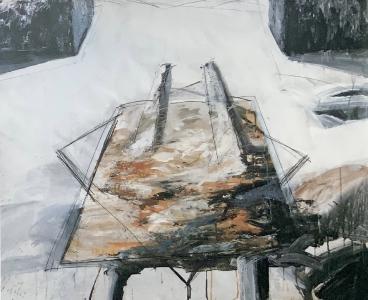 Entwurf für eine Platzgestaltung (Brunnenanlage), 1985