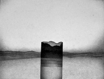 Säulenfragment, 1974