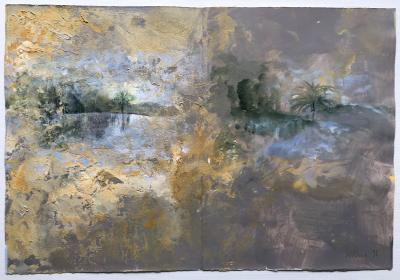 Diario 15 (Freskofragment), 1995