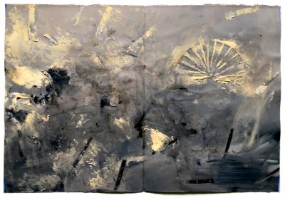 Diario 21 (Freskofragment), 1995