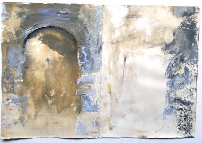 Diario 7 (Freskofragment), 1995