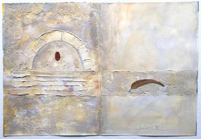 Diario 8 (Freskofragment), 1995
