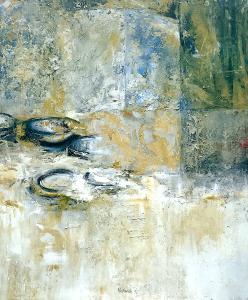 Fresko (Detail-Studie zu Leonardo da Vinci
