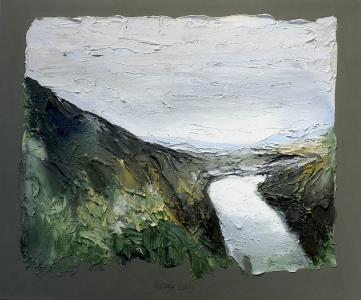 Landschaftsfresko (Rhein), 2000