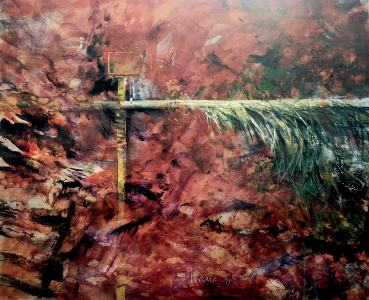 Studie zu Fresko-Fragment, 1991