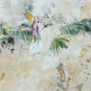 Studie zu Palmen-Fresko, 1992