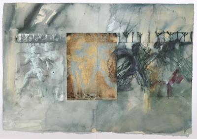 Tagebuch (Architektur-Relief), 1991