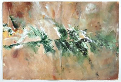 Tagebuch (Freskenfragment), 1991