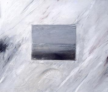Wandlandschaft (Entwurf für ein Wandbild), 1981