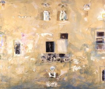 Wandrelief - Rom 13.5.1963 (für Walter Erben), 1995