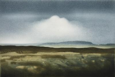 Hügellandschaft, 1980