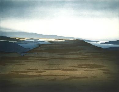 Inselgruppe (Weichendes Licht), 1980