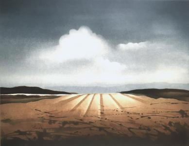 Landschaft mit Lichteinfall, 1983