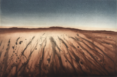 Landschaftsfragment, 1980