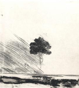 Landschaftsstudie, 1980