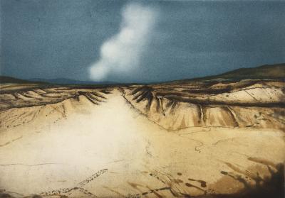 Landschaftsverwehung, 1980
