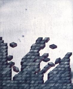 Erdriss-Mauer, 1973