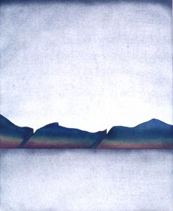 Erdriss mit Regenbogenreflexion, 1973