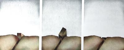 Erdriss (Triptychon), 1974