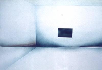 Landschaft (Innenraum / Außenraum), 1975