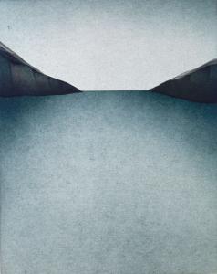 Landschaft mit Meermündung, 1974