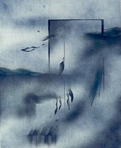 Landschaft, sich auflösend, 1973