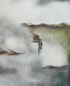 Landschaft sich auflösend, 1972