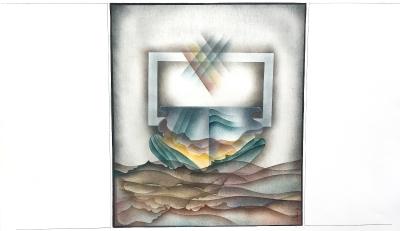 Landschafts-Fenster, 1972