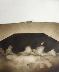 Landschaftsauflösung (Das Zeichen), 1975