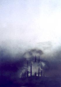 Landschaftszeichen, 1975