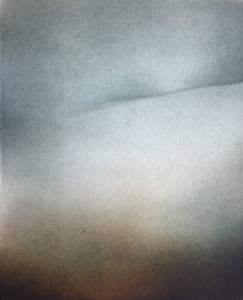Nebellandschaft mit Horizont, 1975