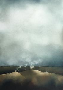 Vulkanische Landschaft, 1975
