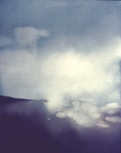 Wolkenbruch in einer Nebellandschaft, 1975