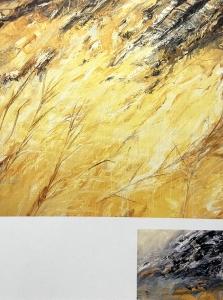 Acker-Fragment (zweiteilig), 1988