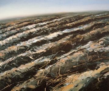 Ackerlandschaft I, 1985