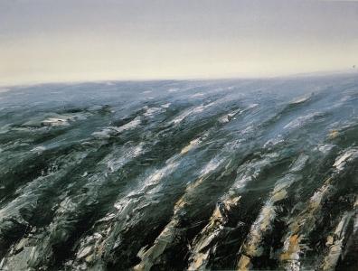 Ackerlandschaft II, 1985