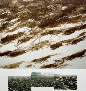 Ackerlandschaft III (Projekt zweiteilig), 1988
