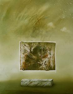 Der Vorgang des Malens I, 1980
