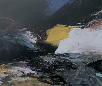 Hügellandschaft, 1986