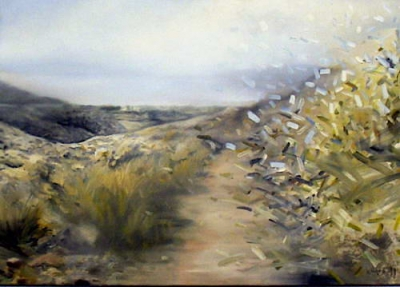 Landschafts-Verwehung, 1986
