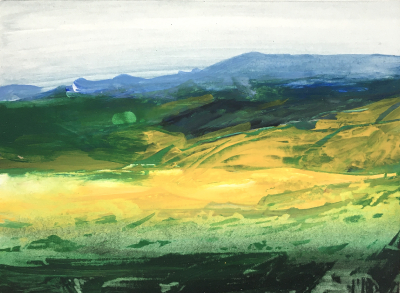 Landschafts-Studie, 1986